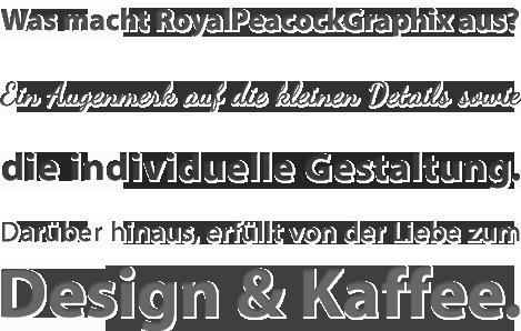 RoyalPeacockGraphix | Grafikdesign - Webdesign Landkreis Stade